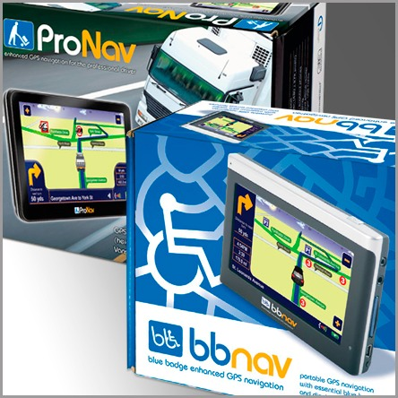 bbnav and ProNav packaging and promotional material