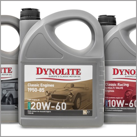 Dynolite motor oil products - Brand redesign, packaging design, and brand promotion