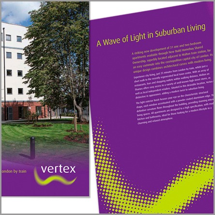 Vertex property brochure and promotion